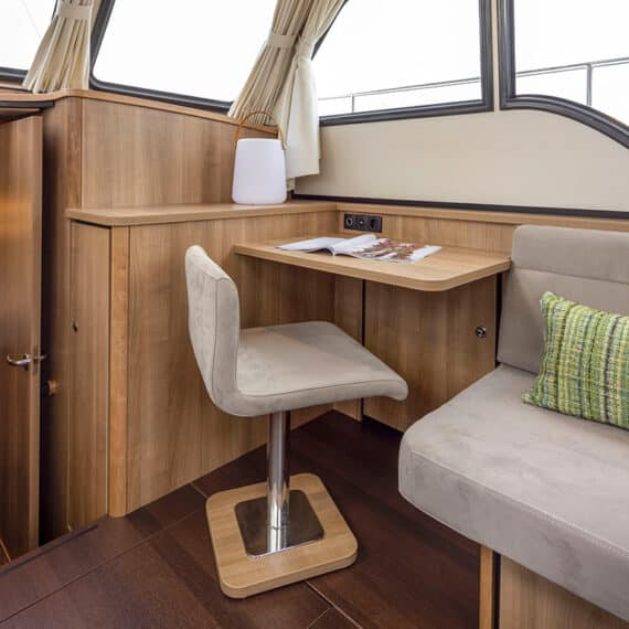 motorjacht Linssen 35 SL AC stoel